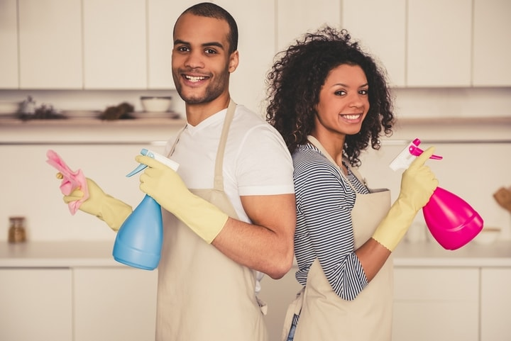 Cleaning-Couple